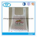 Preiswerter Supermarkt-Plastikshirt-Einkaufstasche