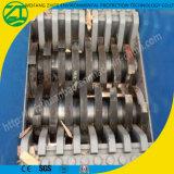 Plástico/borracha/pneu metal do cilindro/sucata/película/protuberâncias/sacos tecidos enormes/único eixo/Shredder dobro do eixo