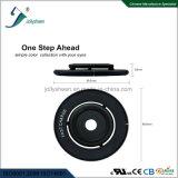 Nero del Qi del caricatore del singolo caricatore senza fili astuto senza fili astuto della bobina e d'argento standard per opzione