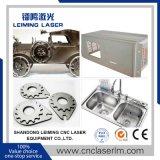 O metal conduz a máquina de estaca Lm3015hm3 do laser da fibra com proteção cheia