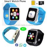 Téléphone intelligent bon marché intelligent de montre de Bluetooth pour les accessoires mobiles A1