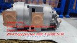 KOMATSU bombea la bomba de engranaje hidráulica de la fábrica 705-53-42000 para el cargador Wa600-3