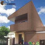 Coowin 나무 플라스틱 합성 WPC 외부 벽 위원회