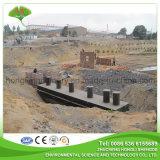 폐수의 기름을 분리하는 지하 결합된 폐수 처리