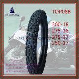 Gummireifen des Qualitäts-Nylonmotorrad-6pr mit Größe 300-18, 275-18, 275-17, 250-17