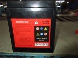 batteria acida al piombo del motociclo di manutenzione sigillata 7L 12V7ah liberamente