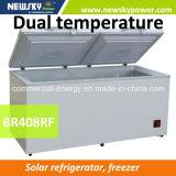태양 에너지 DC12/24V 압축기 가슴 냉장고 12V