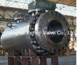 Turbine Operation API 6D Flanged Dbb Ball Valve