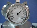 Klok de van uitstekende kwaliteit van de Lijst van het Kwarts voor de Hygrometer van de Thermometer van de Gift A6033 met de Houder van de Pen en Pen