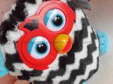 Chiffre jouet de peluche de poupée de peluche (pistes droites) de boum de Furby