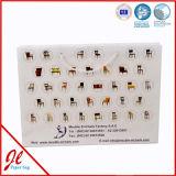 買物をする中国の工場習慣によって印刷されるクラフト袋のための印刷紙袋