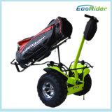 Golf-Gebrauch-elektrischer Roller, Ecorider Marken-persönliches Mobilitäts-Fahrzeug, zwei Rad-Golf-Karre