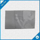 Etiket van de Polyester van het Kledingstuk van de douane het Witte HoofdDamast Geweven