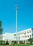 Singola torretta di telecomunicazione del tubo in Cina