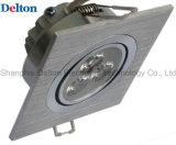 3W flexible Deckenleuchte des Quadrat-LED (DT-TH-3H)
