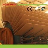 Helle und dunkle Farbe MDF-Vorstand-Holzfaserplatte