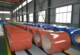 Acier en aluminium enduit Coil/PPGI/PPGL/Gi/Gl de couleur et feuilles de toiture