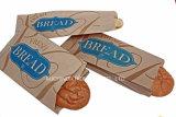 Pan francés impresas personalizadas bolsas de papel Kraft de embalaje