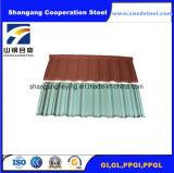 Feuille en acier de toiture de la construction Gi/PPGI/
