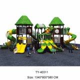 子供のための木の屋外の運動場、プラスチック屋外の運動場(TY-70583)