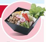 メラミン正方形のサラダボールまたは野菜ボールかディナー・ウェア(QQBK4317)