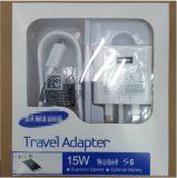 새로운 UK 3pin는 비용을 부과 이동할 수 있는 USB 충전기 Samsung S6/S7/S8를 위한 단식한다