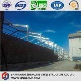 Halle-Extensions-Stahlrahmen für Porcessing Werkstatt