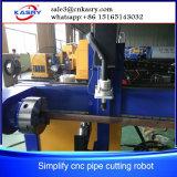 Kr-Xys de coupeur de plasma du découpage Machine/CNC de pipe en métal de Symplify