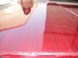 Het rode Triplex van de Polyester Plywood/PVC/het Triplex van de Bekleding van het Document met Beste Prijs