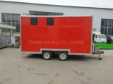2017 Fabricant Fast Food Trucks Mobile Food Trailer avec Ce