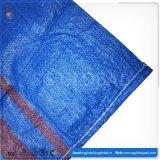 Customized 25kg 50kg Tecido PP azul sacos de Alimentação