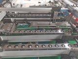 Imprime Corrtgated doble carpeta Gluer junta las piezas de la máquina
