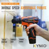 Kynko 12V 10mm李イオン電池のコードレスドリル(KD30)