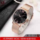 Reloj grande barato del descuento de Women&Men del cuero del regalo de la promoción del reloj del amante de los pares del diseño de la manera Yxl-538