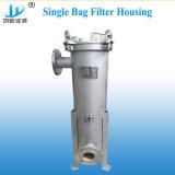 Edelstahl 304/316 Wasser-Reinigungsapparat-einzelnes Beutelfilter-Gehäuse