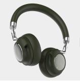 De Bedrijfs Draadloze Hoofdtelefoon van uitstekende kwaliteit met de Zachte Oorbeschermers van het Leer
