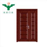 浙江Yujieの製造の熱い販売のマホガニーの純木のドア