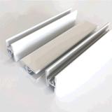 Perfil de alumínio com jateamento de areia Anodização Tratamento de Superfície
