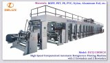 2 Unwinders 및 2 Rewinders (DLYJ-13850C/S)를 가진 기계를 인쇄하는 고속 윤전 그라비어