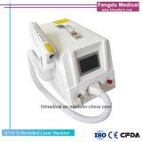 1064nm & 532nm macchina Q-Switched portatile di rimozione del tatuaggio del laser del ND YAG