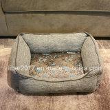 호화스러운 개 침대 소파 자수 패턴 포도 수확 디자인 개 제품