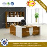 Melamin Lamianted Resopal-Büro-Schreibtisch-hölzerne Büro-Möbel (HX-DS255)