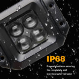 4D luz de iluminação brilhante super do trabalho do diodo emissor de luz 20W do holofote 350m