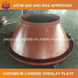 Plaque en acier résistante à l'usure de chrome élevé