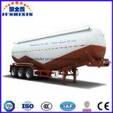 O tri eixo 40cbm 50ton seca o reboque do tanque do cimento do pó de maioria