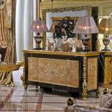 0061金Europの高貴なデザイン標準的な純木のビュッフェ