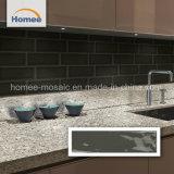 Vitrage porcelaine Gris pur Cuisine Salle de bains carrelée de métro de la mosaïque Wall Tile