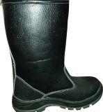 Gaines en cuir de sûreté d'unité centrale de chaussures de sûreté d'unité centrale