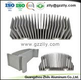 Guangzhou-Lieferanten-Aluminiumstrangpresßling-Kühlkörper für LED-Licht