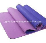 Eco antideslizante de caucho TPE Gym Fitness Yoga Mat